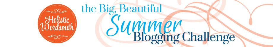 Blogging Challenge Banner